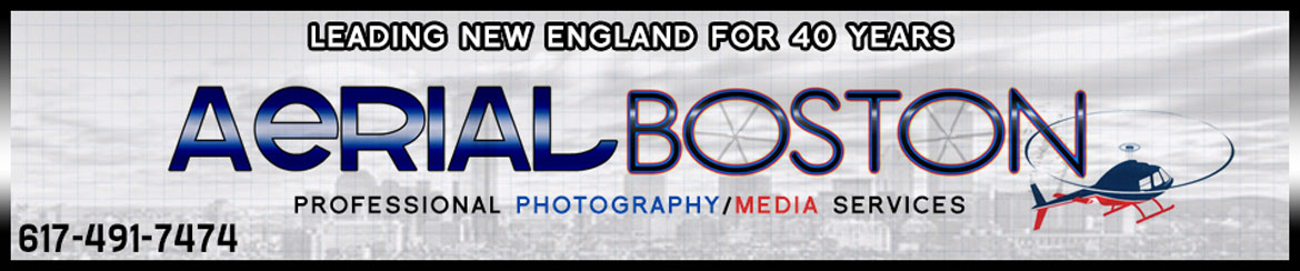 Aerial Boston Logo Banner wide